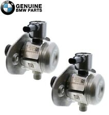 Genuine Pair Set of Left & Right High Pressure Fuel Pumps on Engine for BMW F10