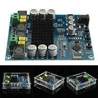 DIY TPA3116D2 120Wx2 Digital Bluetooth 4.0 Receiver Amplifier Acrylic Case ASS