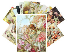 24 Postkarten Set * Blumen Fee Cecile Barker Flower Fairy Vintage Plakat CC1006