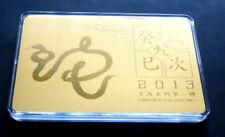 2013, 999,9 Gold Prestige Card Serie Nr. 2 im Folder  (P0765)