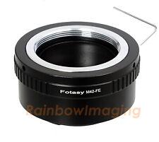 Helios 44-2 58mm M42 lens to Sony E-Mount a6500 a6300 a6100 a6000 a6400 adapter