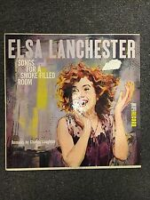 Elsa Lanchester Songs For A Smoke-Filled Room LP Mono Vinyl 1957 Easy Listening