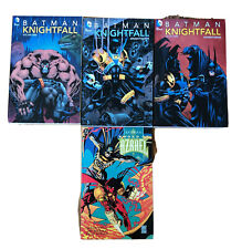 Batman Knightfall Vol 1 2 3 Sword Of Azrael TPB Graphic Novel Lot Omnibus