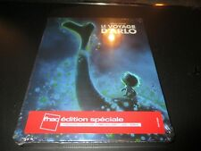"COFFRET STEELBOOK 1 BLU-RAY + 1 DVD NEUF ""LE VOYAGE D'ARLO"" Disney"