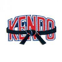 """Kenpo Black Belt Martial Arts Patch - 4"""""""