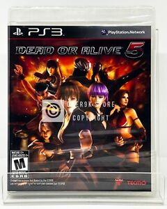 Dead or Alive 5 - PS3 - Brand New   Factory Sealed