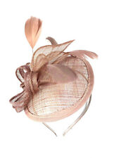 Nude Headband Aliceband Hat Fascinator Weddings Ladies Day Race Royal Ascot 23