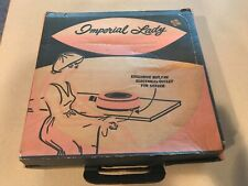 Vintage Imperial Lady Controlled Heat Hair Dryer In Original Box. Tested/READ