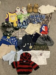 Build A Bear Clothes Shoes Hat Bag Sleepingbag Bundle Joblot Boys
