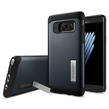 Spigen Galaxy Note FE Case Slim Armor Metal Slate