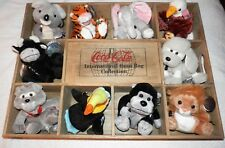 COCA COLA Brand International Bean Bag Collection Unplayed With Condition