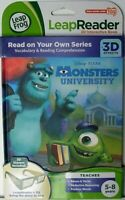 LEAPFROG LEAPREADER 3D INTERACTIVE BOOK>MONSTERS UNIVERSITY>FREE U.S. SHIPPING