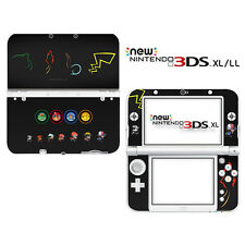 Hot Pokemon Vinyl Game Decals Skin Stickers for Nintendo New 3DS XL LL - XL0072#