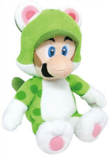 "Official 14"" Large Cat Luigi Plush Nintendo Super Mario (1376) USA Little Buddy"