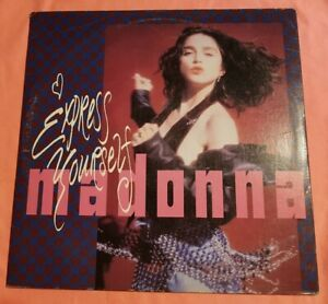 MADONNA - EXPRESS YOURSELF LP VINILE IMPORTAZIONE