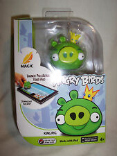 Magic Angry Birds  KING  PIG  iPAD  APPTIVITY   figure, card & manual (#1073)