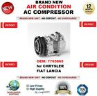 Denso Aire acondicionado CA Compresor 7765865 Para Chrysler Fiat Lancia NUEVO