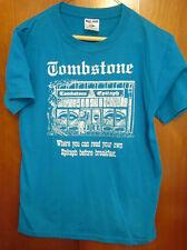 TOMBSTONE Arizona small vtg T shirt Gunfight OK Corral epitaph tee western 50/50