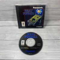Real Pinball (1994) Game by Japan Dataworks for 3DO - Complete With Manual VGC