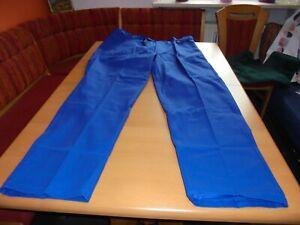 NEU: Herren Arbeitshose- Handwerkerhose Bauarbeiterhose blau Gr. 62