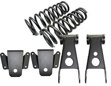 """B 1997-2003 Ford F150 3"""" Front 4"""" Rear Drop Coil Springs #253530 Shackles Hanger"""