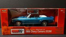 Ertl American Muscle 1969 Chevy Camaro SS396 K&N Filters 1:18 Scale Die Cast Car