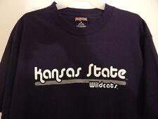 Kansas State Wildcats Purple Jansport T-Shirt Size Large