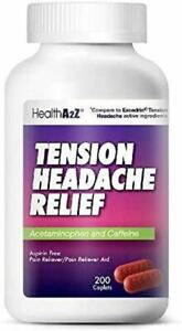 Tension Headache Relief aspi.rin Free Compare to Excedrin Active Ingredient 200