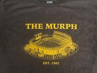 THE MURPH JACK MURPHY STADIUM VINTAGE SAN DIEGO PADRES T-SHIRT BROWN & GOLD NEW