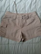 The North face Shorts Beige Hiking Walking Size 6
