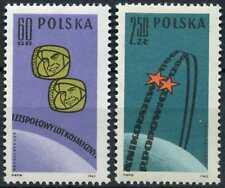 Poland 1962 SG#1338-9 First Team Manned Space Flight MNH Set #D81546