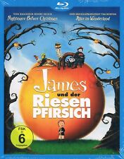 Blu-Ray JAMES AND THE GIANT PEACH (1996) Henry Selick Roald Dahl Region B/2 NEW