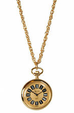 Pendant Watch with Chain #9087G Avalon Women's Antique Style Gold-Tone