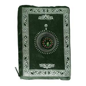 Prayer Rug for Travel Journey Prayer Compass Prayer Sejjada Namaz Islam