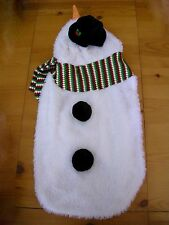 Christmas Snowman XXL Dog Costume Pet Clothes Halloween Top Paw NWT Holiday
