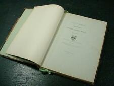 "NobleSpirit {3970}Antique ""Account of the Descendants of Col. Thomas White"" Book"