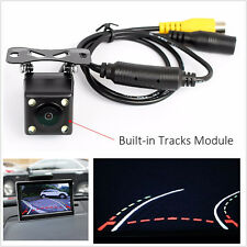 4Led Ir Night Vision Car Reversing Rear View Dynamic Trajectory Camera WideAngle