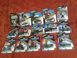 HOT WHEELS MARVEL character cars + complete GUARDIANS OF THE GALAXY rare gift