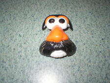 1997 Hasbro Mr. Potato Head Orange Nose Black Mustache Only Part