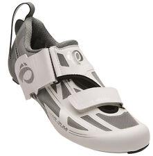 Pearl Izumi Women's Tri Fly Elite v6 Carbon Triathlon Shoes White/Silver 41.5