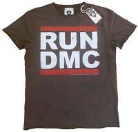 Official AMPLIFIED RUN DMC 80's Hip Hop Rock Star ViP Vintage T-Shirt g.S 46