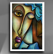 MODERN ART URBAN EXPRESSIONS Giclee print  reproduction of Mix Lang painting