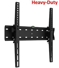 "Tilting Flat Slim TV Wall Mount Bracket Fits 32 42 46 50 55"" Max VESA 400X400"
