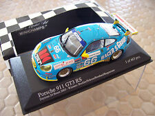 PORSCHE 911 GT3 RS 2003 MINICHAMPS LIMITED EDITION 1/43 DAYTONA WINNER NIB 1/663