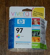 HP 97 Tri-color Original Inkjet Ink Cartridge (C9363WN) Large Exp Feb 2008