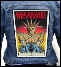 RAGE AGAINST THE MACHINE - Slave --- Giant Backpatch Back Patch