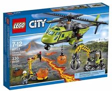 LEGO 6137184 City Volcano Explorers 60123 Supply Helicopter Building Kit