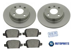 For Vauxhall - Tigra TwinTop 2004-2009 Rear Brake Discs and Pads Set