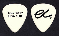 Eric Clapton White Tour 2017 Usa/Uk Guitar Pick - 2017