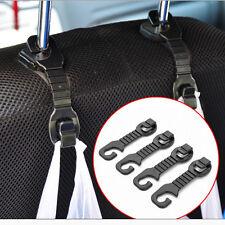 2pcs Car Back Seat Headrest Hanger Holder Hooks For BagS Purse Cloth Grocer Beef